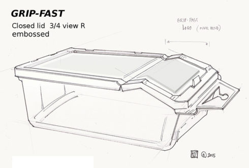 Grip Fast Product Drawing